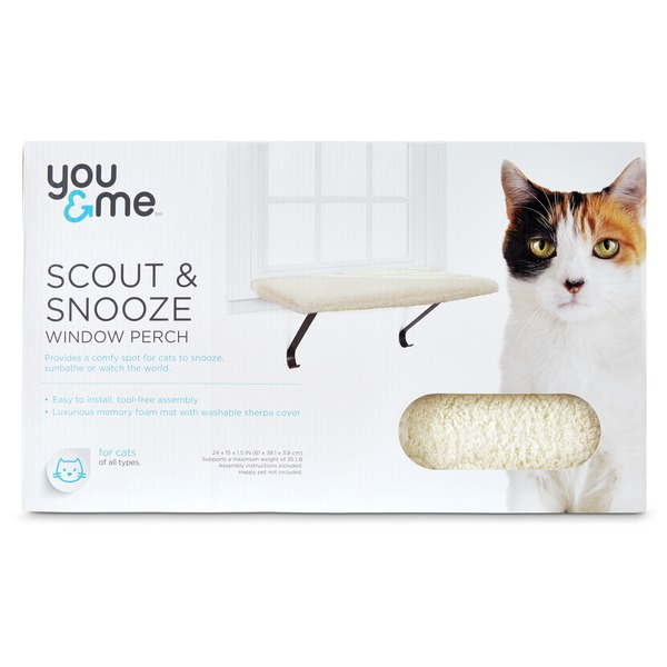 You & Me Scout & Snooze Window Perch for Cat