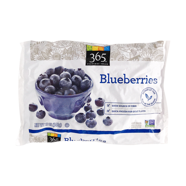 365 everyday value® Frozen Blueberries, 12 oz