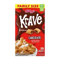 Krave Breakfast Cereal - 17.3oz - Kellogg's