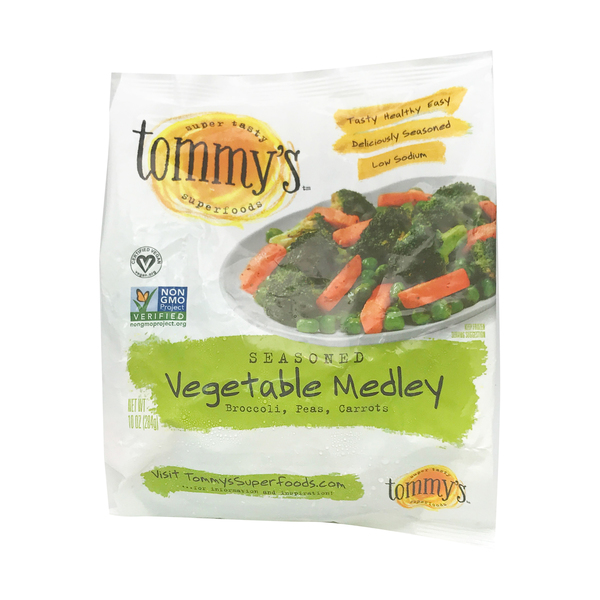 Tommy's superfoods Seasoned Vegetable Medley, 10 oz