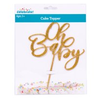 """Way to Celebrate! """"Oh Baby"""" Cake Topper"""