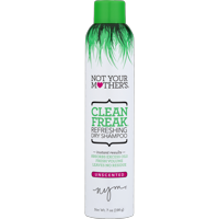 Not Your Mother's Clean Freak Refreshing Dry Shampoo, Unscented, 7 oz