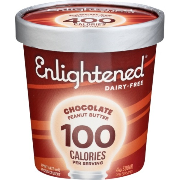 Enlightened Frozen Dessert Chocolate Peanut Butter