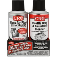 CRC Mass Air Flow & Throttle Body Single-Use Cleaner Twin Pack Kit