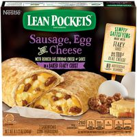 Lean Pockets Sausage, Egg and Cheese Frozen Sandwiches