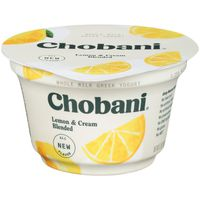 Chobani Yogurt, Greek, Creamy Blended Lemon & Cream