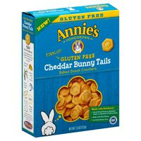 Annie's Homegrown Gluten Free Baked Cracker Cheddar Bunny Tails