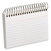 Oxford Spiral Index Cards, 3