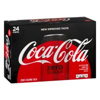 Coca-Cola Zero Sugar Soda, 12 Fl. Oz., 24 Count