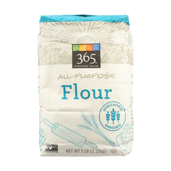 365 Everyday Value® Flour, All Purpose, 5 Lb.