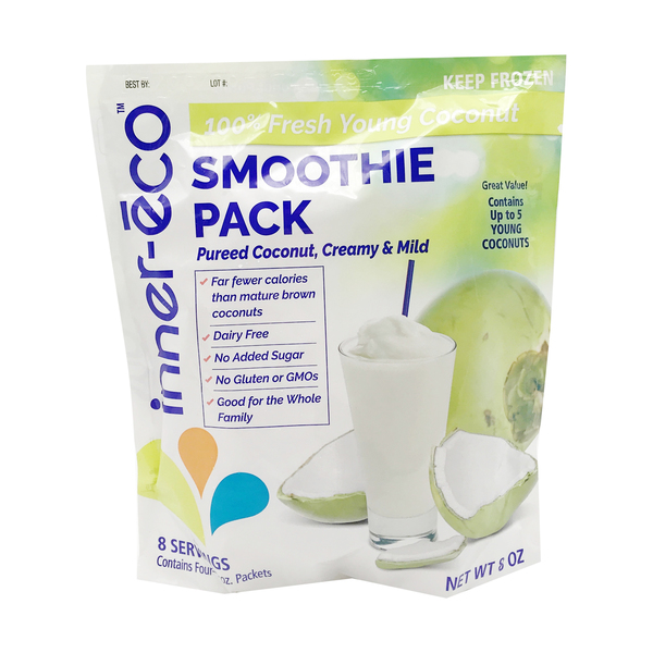 Coconut Smoothie Pack, 4pk, 8 oz