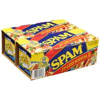 Spam Less-Salt Lunch Meat, 8 x 12 oz