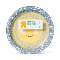 """Kids Printed Paper Plate 8.5"""" - 40ct - Up&Up™"""