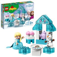 LEGO DUPLO Disney Elsa and Olaf's Tea Party 10920 Building Kit for Toddlers (17 Pieces)