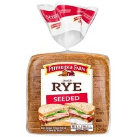 Pepperidge Farm Jewish Rye Seeded Bread, 16oz Bag