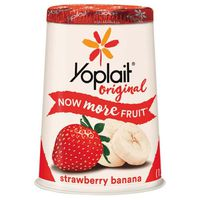 Yoplait Yogurt, Lowfat, Strawberry Banana, Original