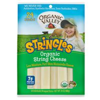 Organic Valley Stringles String Cheese, 24 oz