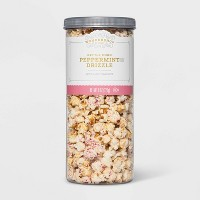 Peppermint Drizzle with Candy Cane Bits Kettle Corn - 8oz - Wondershop™