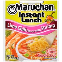 Maruchan Instant Lunch Lime Chili Flavor w/Shrimp Instant Lunch, 2.25 oz