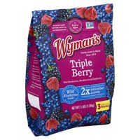 Jasper Wyman & Son Wymans Triple Berry Blend, 3 lb