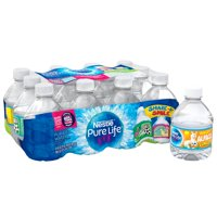 Nestle Pure Life Purified Water, 8 fl oz. Plastic Bottled Water (Pack of 12)