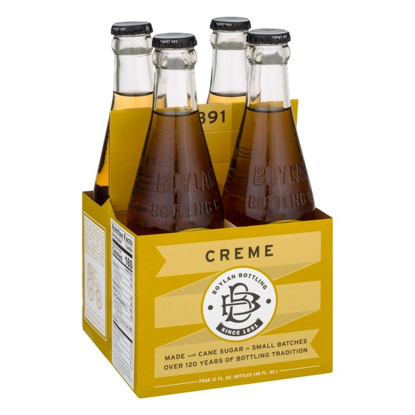 Boylan Bottling Soda, Creme