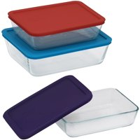Pyrex Simply Storage Value Pack, 6 Piece