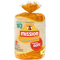 "Mission 6"" White Corn Tortilla, 100 ct"