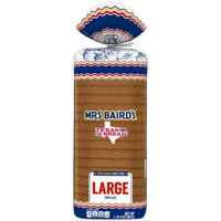 Mrs Baird's Large White Bread, 20 oz