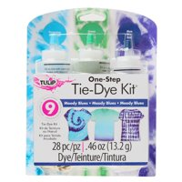 Tulip® 3 Color One-Step Tie-Dye Kit Moody Blues, DIY Tie-Dye