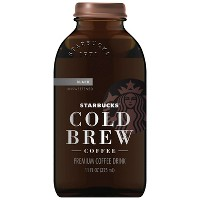 Starbucks Cold Brew Black Unsweetened - 11 fl oz Can