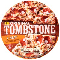 TOMBSTONE Original Four Meat Frozen Pizza 22.1 oz. Pack