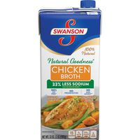 Swanson® Natural Goodness® Natural Goodness Chicken BROTH