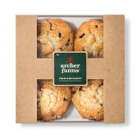 Blueberry Muffins 4ct - Archer Farms™