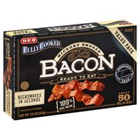 H-E-B Fully Cooked Bacon Value Pack