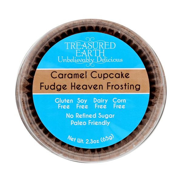 Treasured earth foods Cupcake Caramel, 2.3 oz