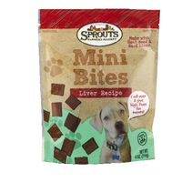 Sprouts Liver Bites Dog Treats