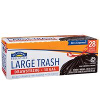 Hill Country Fare Large Drawstring Trash Bags
