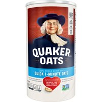 Quaker Oats, Quick 1 - Minute Oatmeal, 18 oz Canister