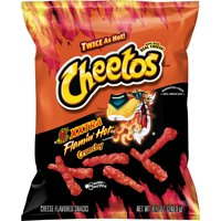 Cheetos Crunchy XXTRA Flamin' HotCheese Flavored Snacks, 8.5 oz Bag