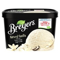 Breyers Original Ice Cream Natural Vanilla - 48oz