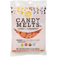 Wilton Candy Melts Orange Candy, 12 oz