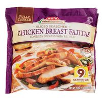 H-E-B Fully Cooked Sliced Seasoned Chicken Breast Fajitas