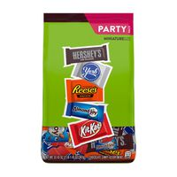 Hershey Chocolate Candy, Assortment, Miniature Size, Party Pack