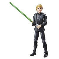 Star Wars Galaxy of Adventures Luke Skywalker (Jedi Master) 5-inch Scale Figure with Lightsaber Feature, 4 and Up