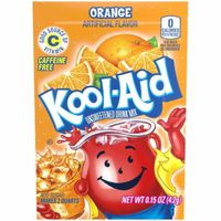 Kool-Aid Unsweetened Orange Powdered Drink Mix, Caffeine Free
