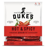 "Dukes Hot & Spicy ""Shorty"" Smoked Sausages - 5 oz"