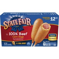 State Fair Beef Corn Stick - 12ct/32oz
