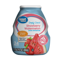 Great Value Simply Clear Strawberry Watermelon Drink Enhancer, 1.62 Fl. Oz.