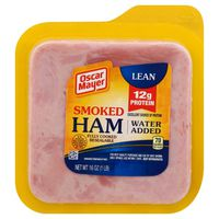 Oscar Mayer Ham Smoked Value Shaved